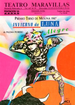 Cartel Invierno de Luna Alegre